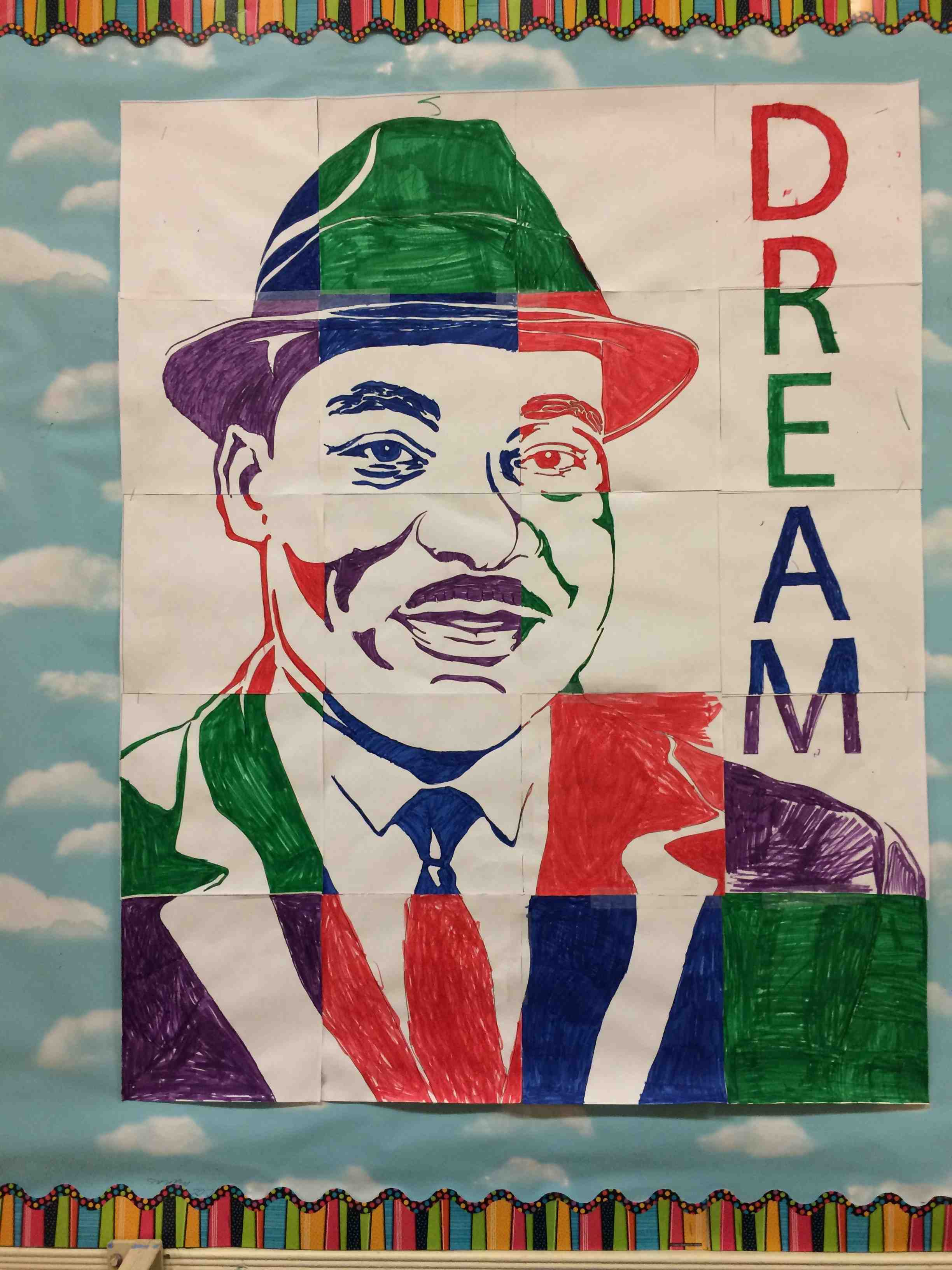 Bulletin Board Set: Martin Luther King - I Have A Dream... by ...